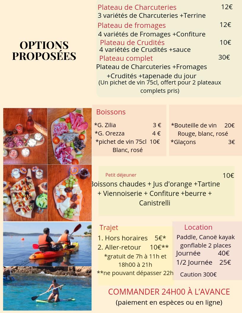 logement insolite corse, logement atypique, voilier au port, voilier au mouillage, plage de st cyprien Corse, locations de Paddle, locations de Canoë kayak